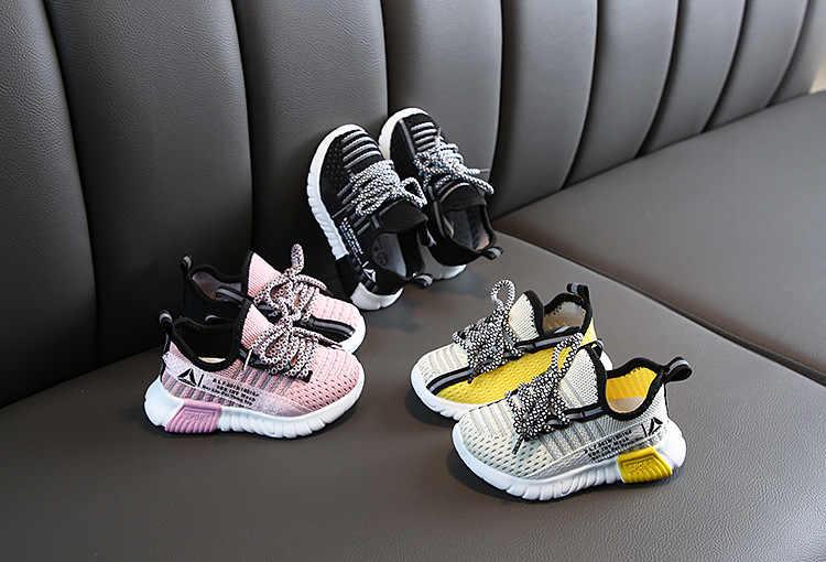 Herfst Jongen Schoenen Sport Kinderen Schoenen Ademend Baby Schoenen Sneakers Zachte Bodem Antislip Casual Kids Schoenen