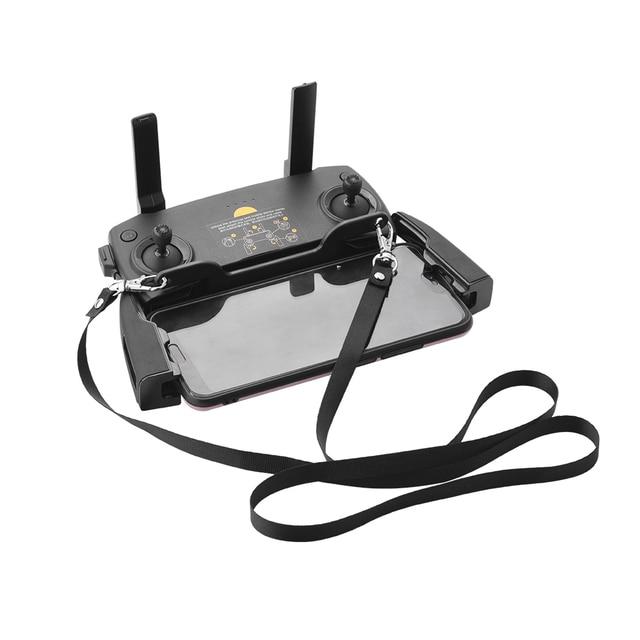 DJI Mavic 2 PRO Zoom Mavic Air 스파크 훅 브래킷 끈 스트랩 숄더 넥 벨트 용 리모콘 더블 매달려 버클