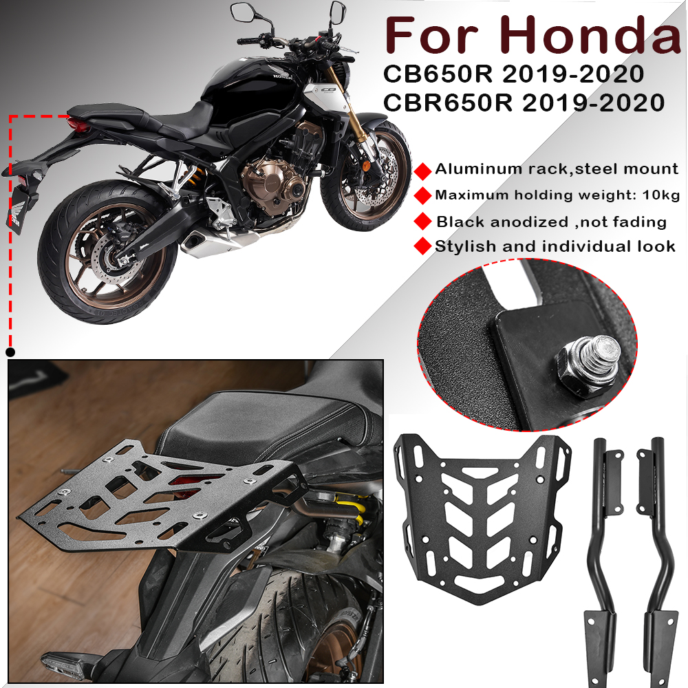 PRO-KODASKIN Motorcycle Frame Sliders Crash Protector Suitable for CB650R CBR650R-Red