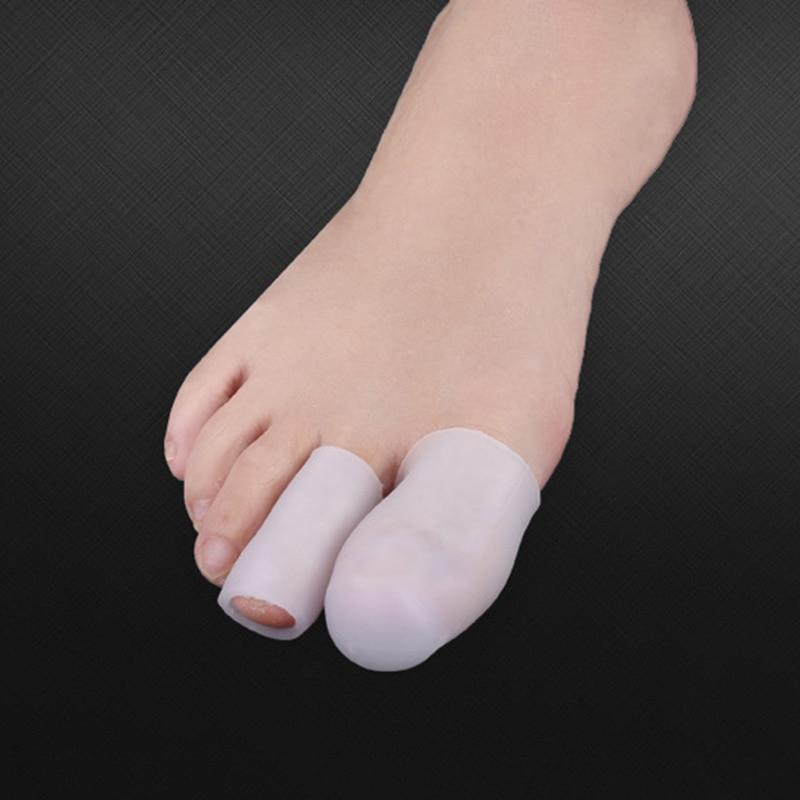 Palec u nogi Protector żelowa obudowa z silikonu Cap ulga w bólu zapobieganie pęcherzom odciski B99