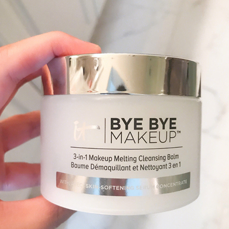Bye Bye 3-in-1 Makeup Melting Cleansing Balm Removing Cream 80g It Cosmetics Skin Softening Serum Concentrate