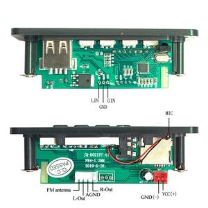 Image 4 - MP3 Bluetooth 5.0 Player Music Integrated Decoder Board Module USB FM Aux Radio Car Audio Hands free MP3 Decoding Remote Control
