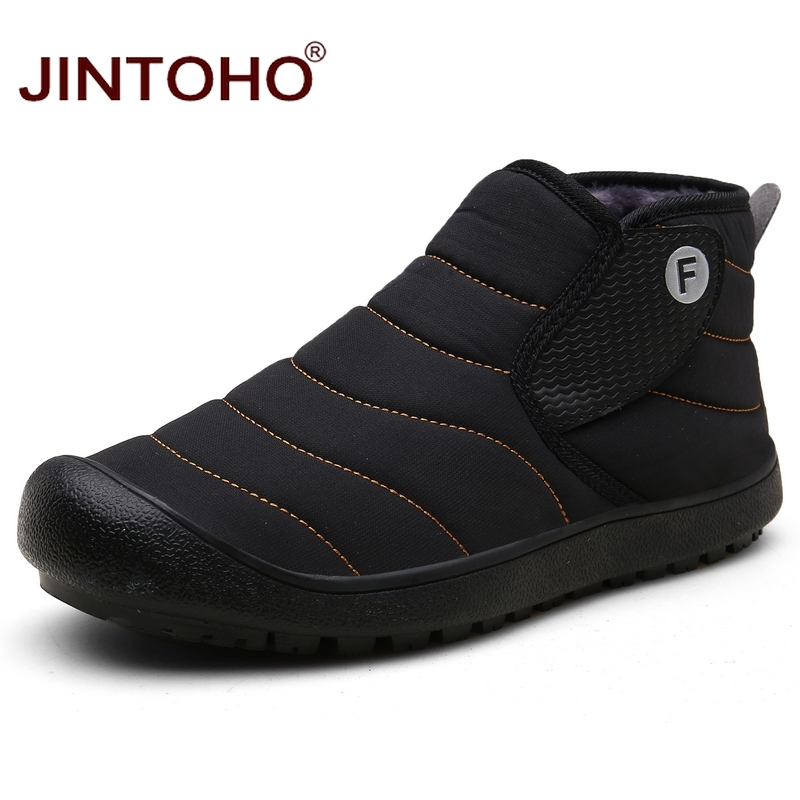 JINTOHO Winter Boots Snow-Shoes Waterproof Unisex Fashion Casual Warm Ankle Men