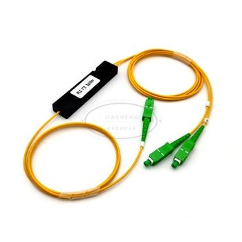 цена на Fiber Optical splitter FTTH PLC SC/APC 1x2 PLC optical fiber splitter FBT Optical Coupler