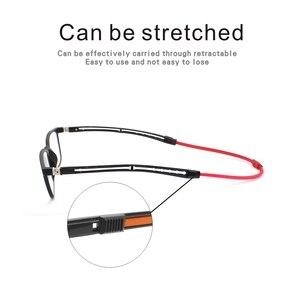 Image 3 - Tr90 leitores óculos de leitura homem feminino ímã portátil diopter pendurado pescoço 1.0 1.5 2.0 2.5 3.0 3.5