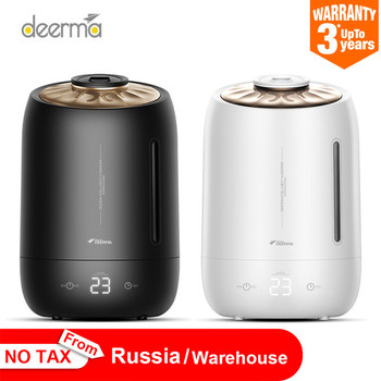 Deerma 5l Air Home Ultrasonic Humidifier Touch Version Air Purifying For Air-conditioned Rooms Office Household D5