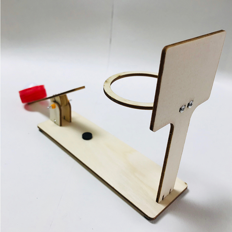 Basketball Shooting Model Toy For Boys STEM Invention Education Electric Child Circuit Primary School STEAM Experiment