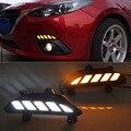 Автомобильное динамическое светодиодное затемнение и указатель поворота  стильное реле 12 В  Светодиодные Автомобильные дневные ходовые ог...