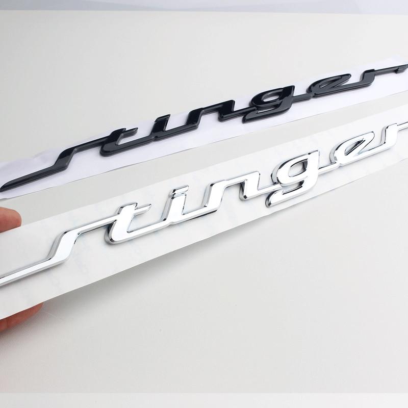 For Genuine Rear Trunk Stinger Letterring Emblem Badge For Kia Stinger 2017 2018 86311J5100 86311 J5100