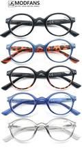 Reading Glasses for Men and Women Retro Round Frame Readers Eyeglasses Hyperopia Presbyopia Eyewear Diopter +1.0 to 4.0