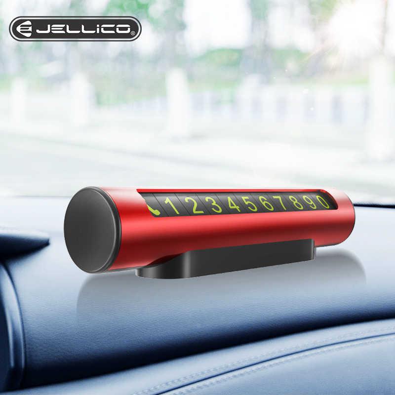 Jellico Auto Tijdelijke Parkeerkaart Houder Magnetische Auto Telefoonnummer Kaart Plaat Parkeerkaart Automotive Interieur Accessoires