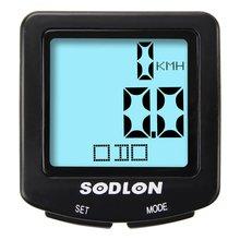 SUNDING SD-571 Bike Computer Speedometer Wireless Waterproof Bicycle Odometer Cycle Computer Multi-Function LCD Display цена 2017