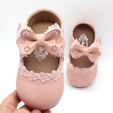 Brand Baby Girls Shoes Leather Solid infant Kids Sh