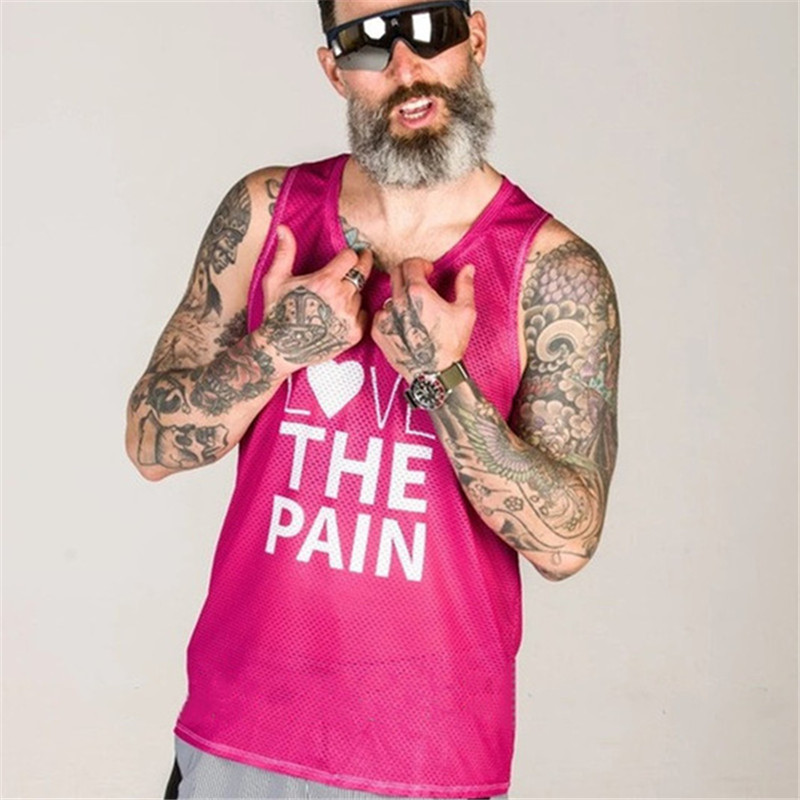 running - Love The Pain 2020 running vest quick drying Summer Bike Jersey sleeveless Maillot Ropa Ciclismo Anti wrinkle Clothes Bicycle