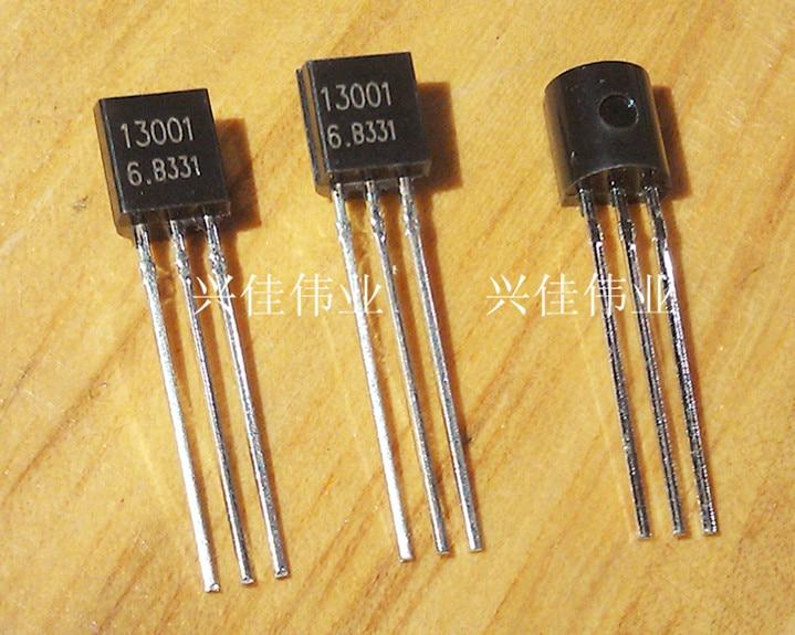 20pcs/lot MJE13001 13001 TO-92 400V/0.2A