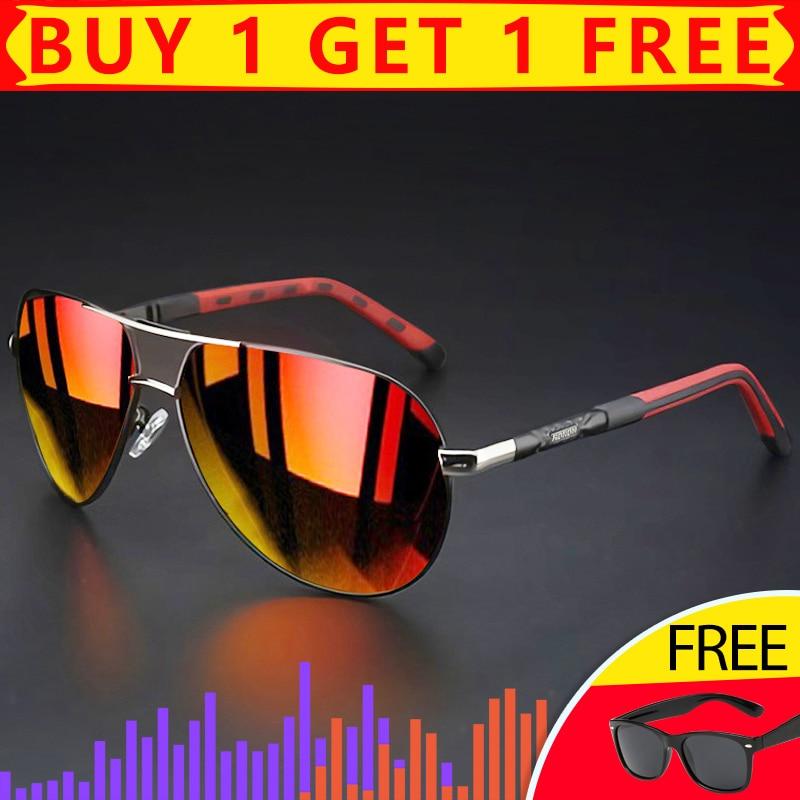 DUBERY Polarisiert Sonnenbrillen brille Sports Fahren Herren Damen Vintage UV400