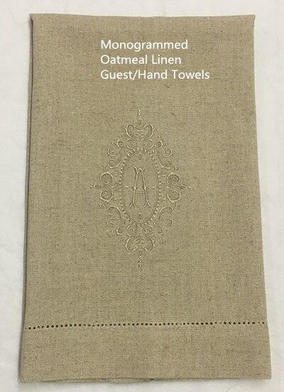 Набор из 12 монограммных полотенец для гостей/рук, Льняное полотенце для чая, кухонное полотенце для ванной