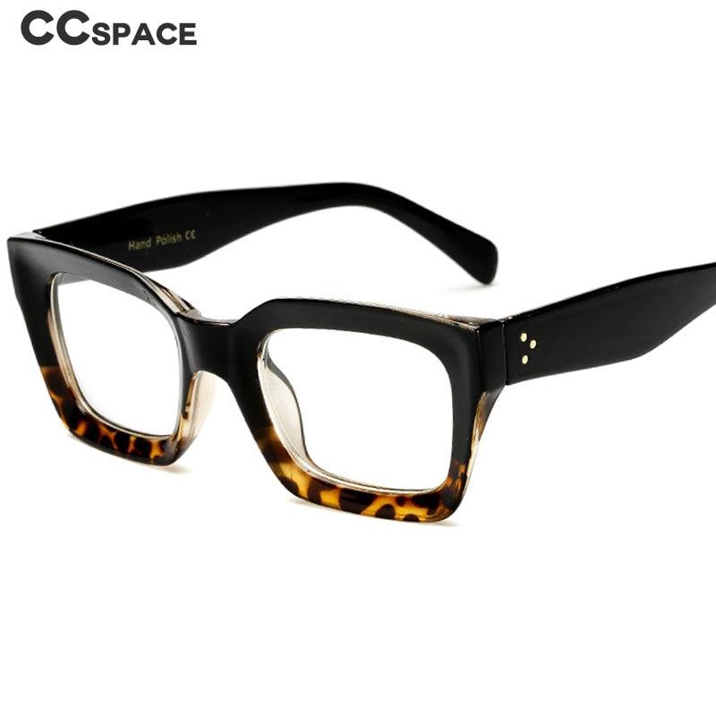 47105 Square Glasses Frames Men Women Rivet Optical Fashion Sunglasses