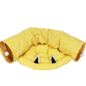 Image 5 - Dual Use Pet Cat Toy&Cat Bed Foldable Cat Tunnel House For Cat Small Dogs Cats Pet Products Lounger For Dogs Cat Training Toy