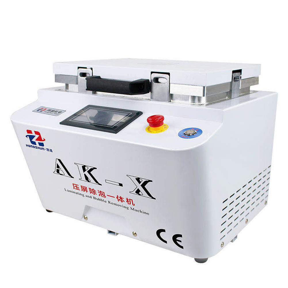 12-inch Vacuum Laminating Machine With Built-In Pump And Air Compressor 3