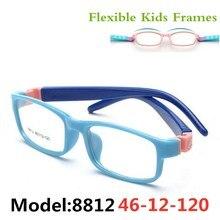 TR очки, детские оправы, очки, оптические очки, очки по рецепту, Детские гибкие резиновые без винта, гибкие, Amblyopia 8812