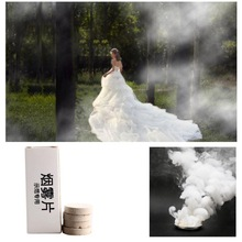 10 Pcs/set White Smoke Pills Halloween Props Combustion Smog Cake Effect Bomb Photography PropCMMA