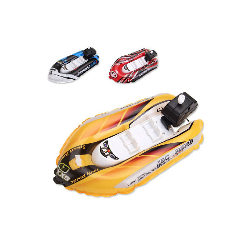 Kayak Pumps Clockwork Accessories Speedboat Kayak Ship Model Inflatable Boat Balloon Children's Outdoor Playing In The Water Toy