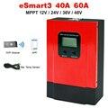 ESmart3 LCD 40A 60A smart MPPT solar laderegler Max 150VDC mit RS485 und batterie temperatur sensor 12V/24V/36V/48V