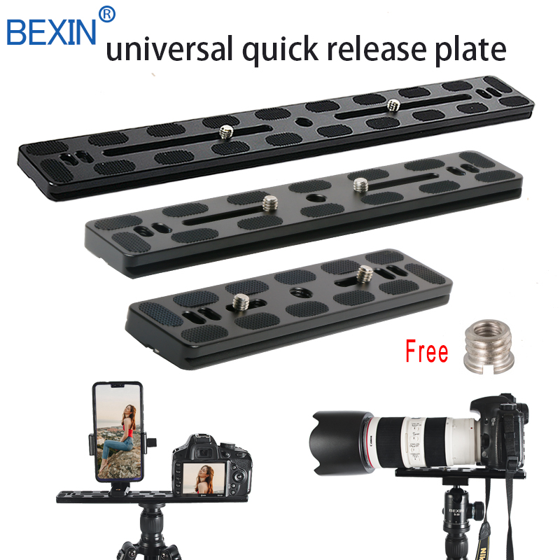 Arca Swiss RRS Dslr Camera Tripod Quick Release Plate Clamp Adapter Mount Base Plate Board Qr Camera Plate For Benro Ball Head