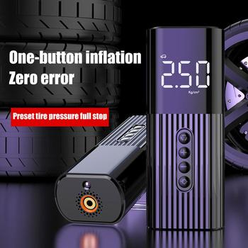 Tyre Inflator Wired Portable Compressor Digital Car Tyre Pump 100PSI Electric Car Air Pump for Car Bicycle Tires Balls 1pcs electric bicycle tires 2 25 14 2 50 14 2 75 14 inch electric motorcycle bicycle tire bike tyre whole sale use