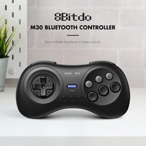 Image 1 - 8bitdo M30 Bluetooth геймпад Беспроводной игровой контроллер с Джойстик для Raspberry PI 3B + 4B Android ТВ коробка macOS Nintendo переключатель