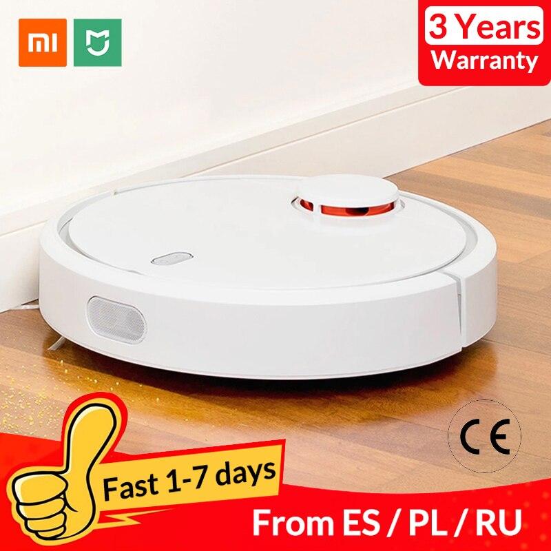 Original XIAOMI Mijia Mi Robot aspirateur pour la maison automatique balayage poussière stériliser intelligent planifié application Mobile télécommande