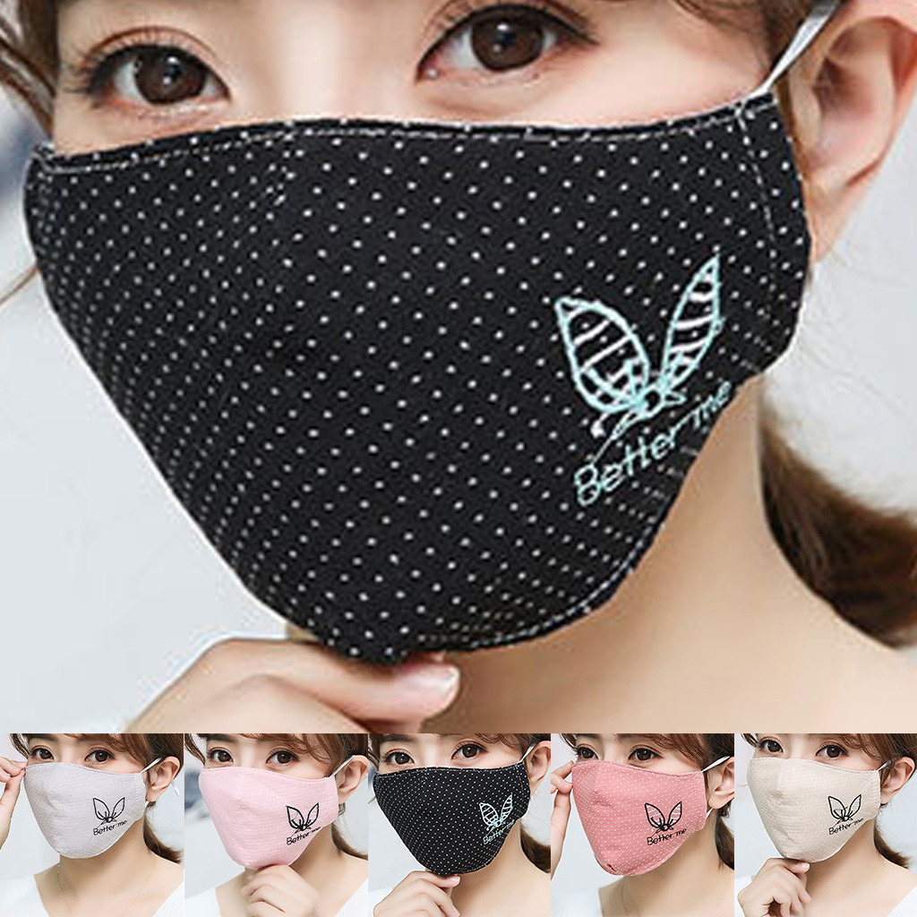 Washable Mouth Masks Fashion Couple Seamless Outdoor Riding Quick-drying Quick-drying Dustproof Cotton Breathable Mask