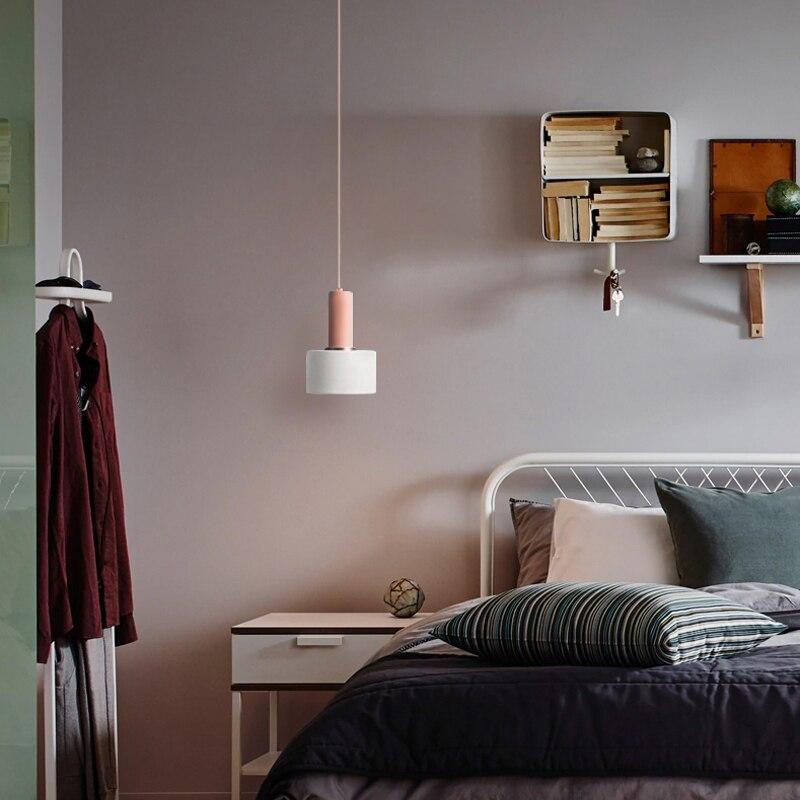 Loft Restaurant Lamp Single Headed Horse Card Dragon Modern Concise Single Bar Counter Reception Bedroom Bedside A Chandelier