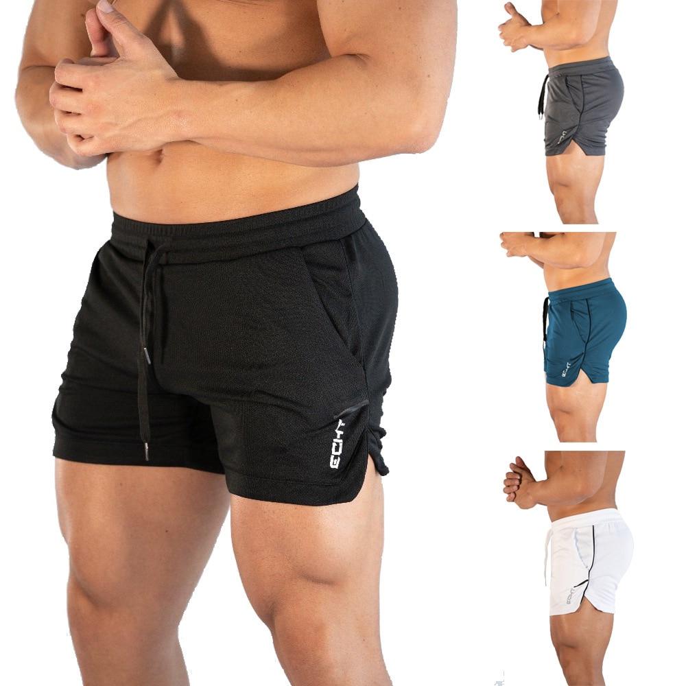 New Fashion  Big Size M-4XL Men's Beach Shorts Men Summer Swimming Shorts Beach Pants Quick Absorb Sweat  Shorts Running Gym Man