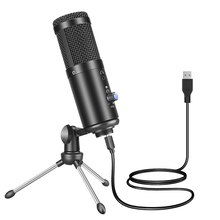 F1 USB Microphone studio Professional Condenser Microphone for PC Computer Recording Streaming Gaming Karaoke Singing Mic Stand