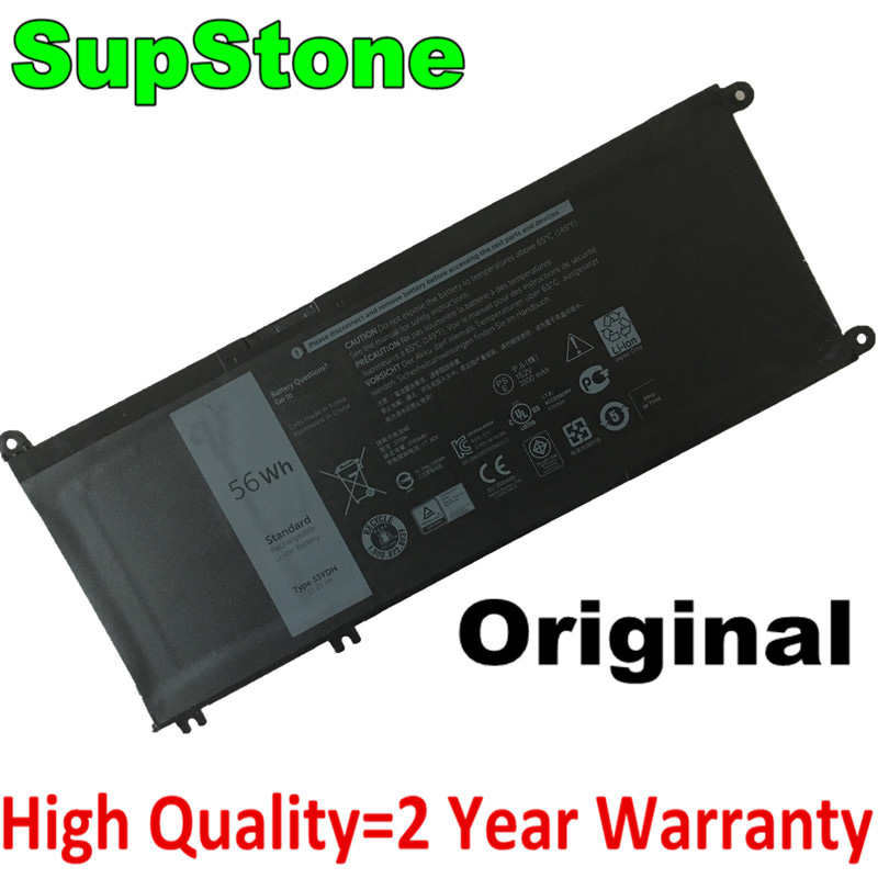 SupStone Genuine Original 33YDH Laptop Battery For Dell Inspiron 13 7353 7577 7779 7778 PVHT1 P30E Laptop Free Shipping