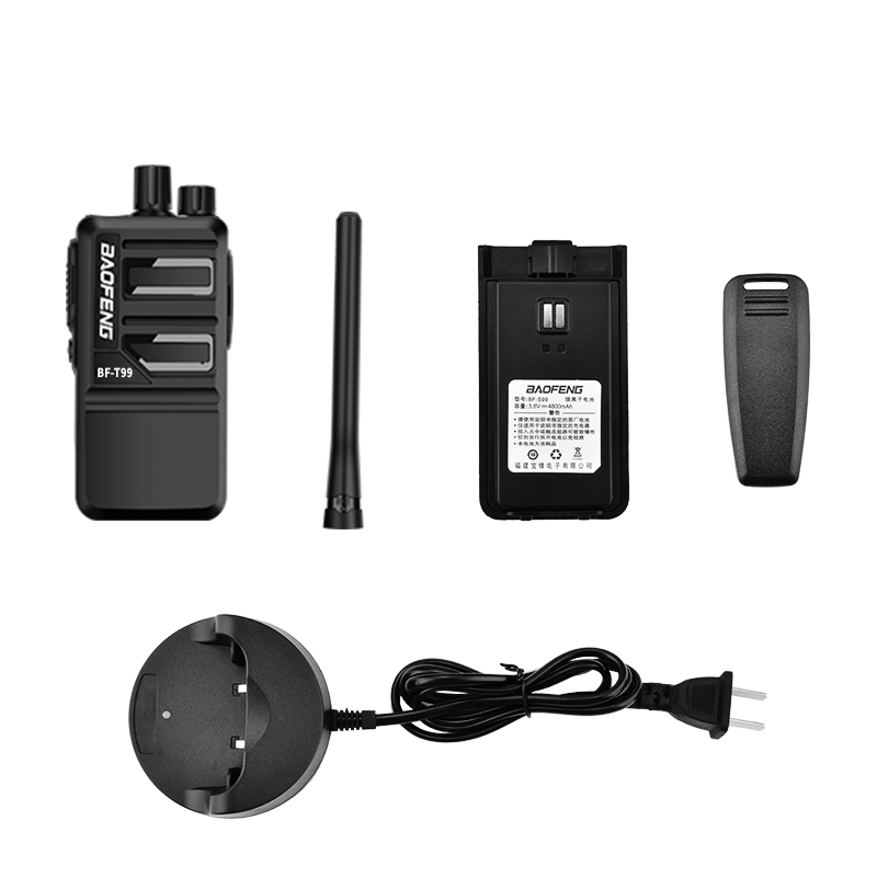 Купить с кэшбэком BaoFeng Walkie Talkie 2PCS BF-T99 with16CH Dust-proof Durable Portable  Handheld cb radio  updated version BF-888S two way radio