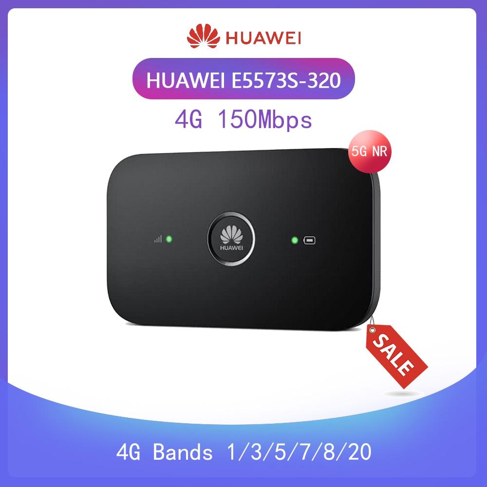 Unlocked Huawei E5573 E5573s-320 Cat4 150mbps Wireless Mobile Mifi Wifi Router PK R216 E5577
