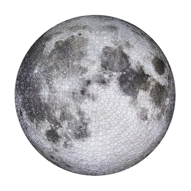 New The Moon And Earth Puzzle 1000 Pieces Jigsaw Puzzle Toys Educational Toys Kids Gifts 1000pcs For Adult Moon Puzzle