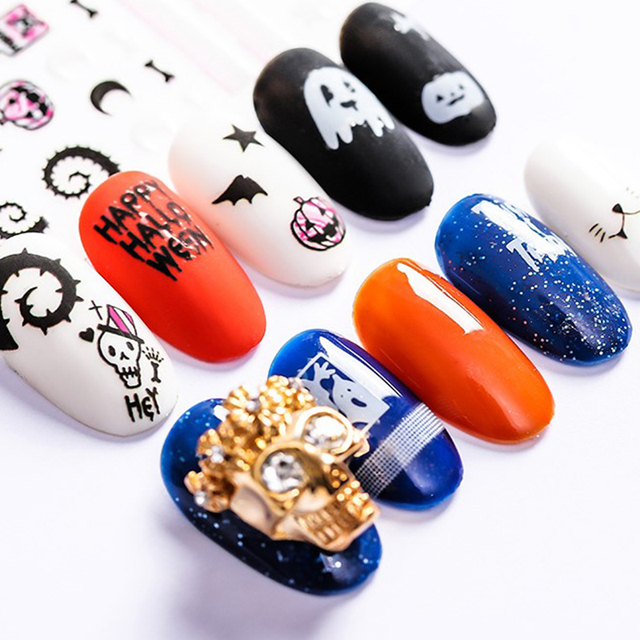 Nail Art Sticker Halloween