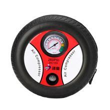 Mini Portable Car Air Compressor 60V Auto Inflatable Pumps Electric Tires Vehicle-Mounted Pump