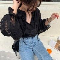 Черная блузка  #3