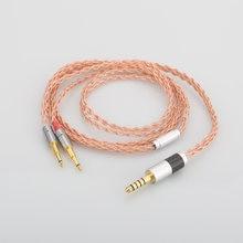 1 шт hifi аудио 8 ядер 44 мм до 25 штекер наушников кабель обновления