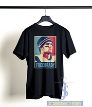FREE TOM BRADY T SHIRT TOM TERRIFIC PATRICK BLACK TEE SM-XL CALI LIFE(China)