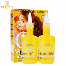 BOQIAN 2pcs/set Perm Water Curl Curly Cream Digital Permanent Ripple Curly Cold Wave Hair Liquid Lotion for Styling Hair 140mlx2