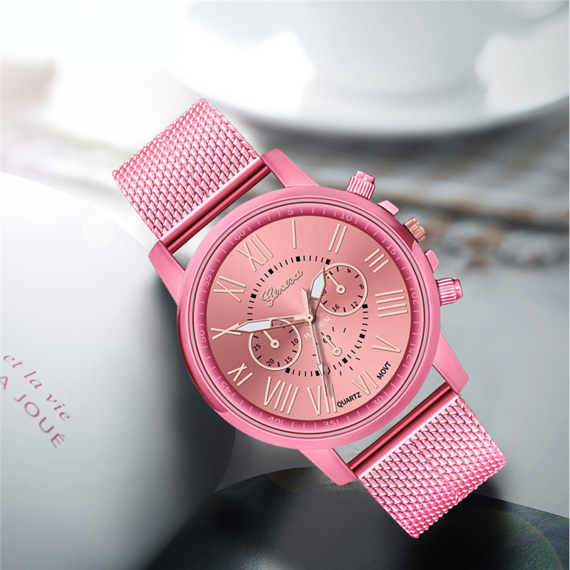 Luxury women Quartz Wrist Watch Temperament lady Watch Stainless Steel Dial Casual Bracele Watches relogio feminino A4 Hde85309bc628484496036c651adc1c47S