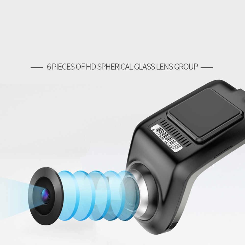 מיני USB HD 1080P נהיגה מקליט רכב DVR מצלמה ADAS אוטומטי דיגיטלי וידאו מקליט מצלמה דאש מצלמת עבור אנדרואיד מולטימדיה נגן