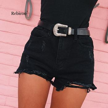 women shorts jeans summer high waisted denim shorts jeans women new skinny slim denim shorts Short Pant 2020 Summer Womens Shorts High Waisted Denim Shorts Jeans Women Short New Femme Push Up Skinny Slim Denim Shorts