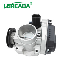 LOREADA 96439960 96611290 Throttle Body Assembly Fits For Deawoo Chevrolet Matiz Spark M200 1.0 loreada throttle body for lada 2 0l 4062 1148100 bore size 60mm high performance throttle valve assembly brand new